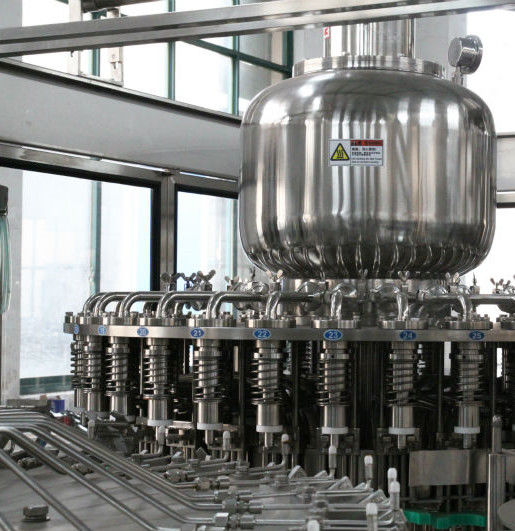 1000BPH - 22000BPH Tea Filling Machine Stainless Steel For Hot Water Filling