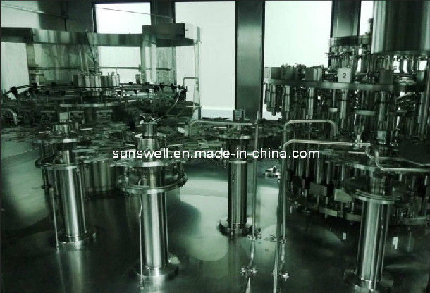 Safe Hot Filling Machine Full Automatic For Fruit Juice / Tea Bottling