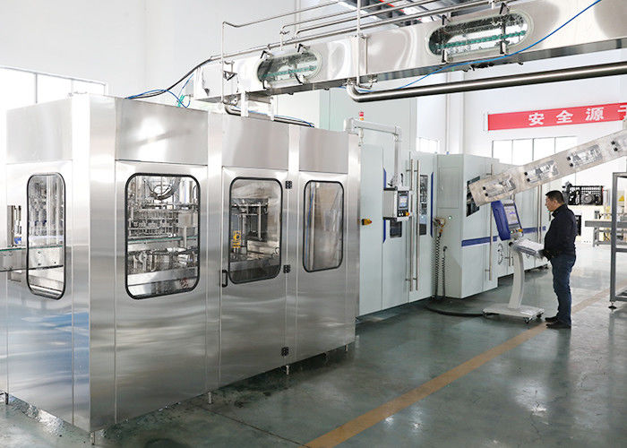 CE Industrial Bottling Machine , Water Blowing Filling Capping Combiblock