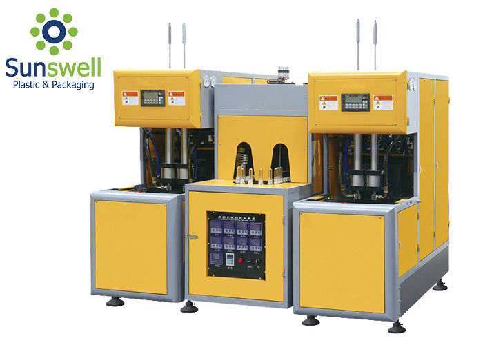 Manual Semi Automatic Blow Molding Machine , Plastic Blow Moulding Machine