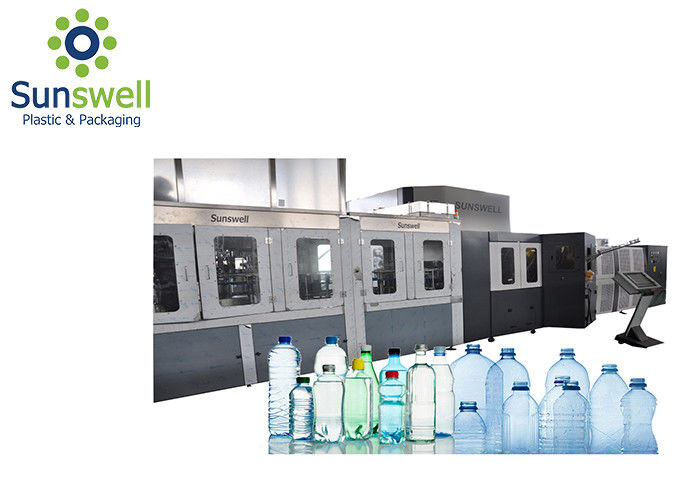 Stable Fully Automatic Blow Molding Machine , Plastic Bottle Manufacturing Machine