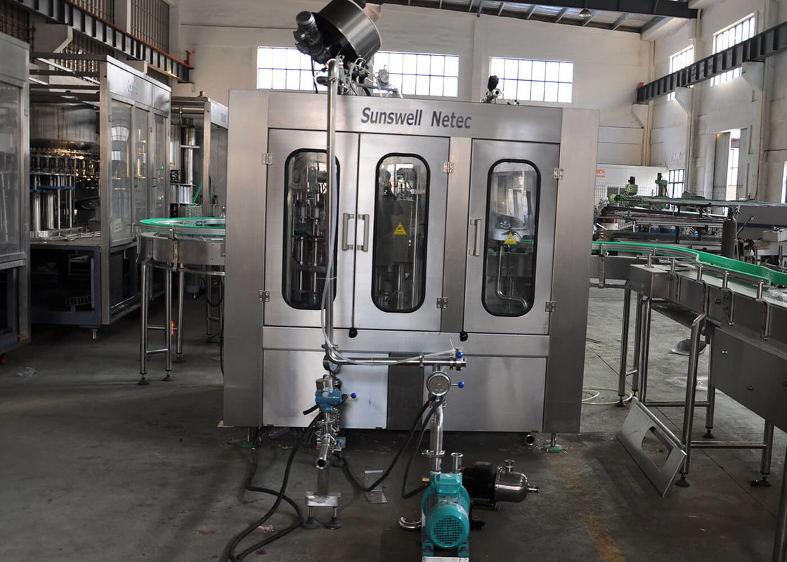 Automatic Rinsing-Filling-Capping 3-in-1 Carbonated Soft Drink Bottling Packaging Machinery