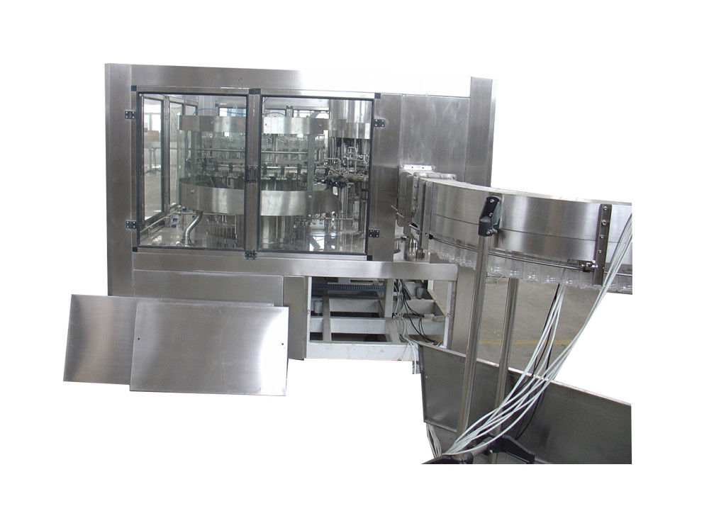 PET Bottling 	Juice Filling Machine , Rinsing Filling Capping Monoblock Machinery