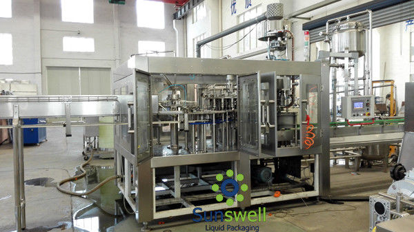 Bottle Liquid Hot Filling Machine High precision For Fresh Orange Juice